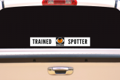"20"" x 3"" Reflective Skywarn Trained Spotter Decal"