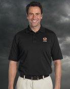 Skywarn Mens Performance Blended Polo