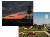 Wakita Water Tower Postcard Combo